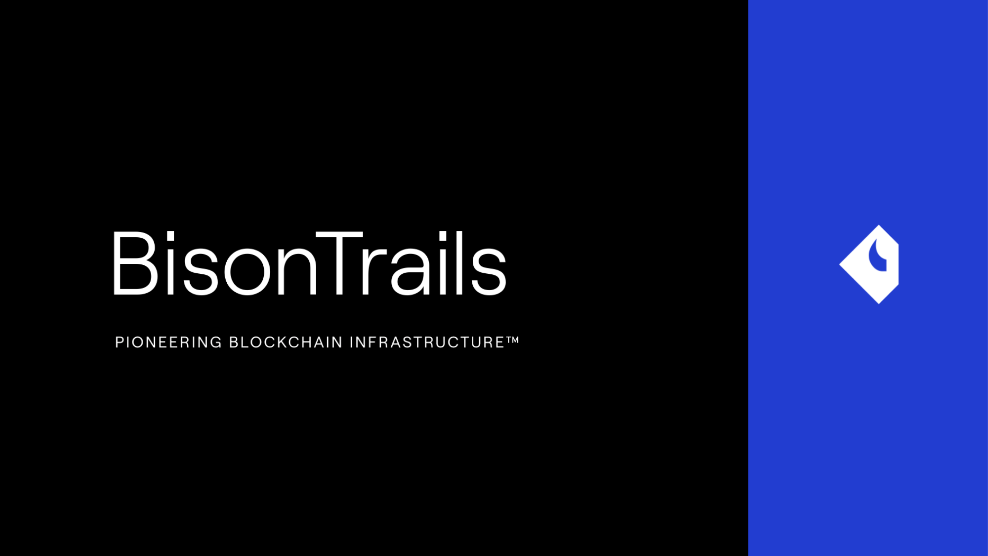 Bison Trails secures $25.5 Million Series A financing round led by Blockchain Capital