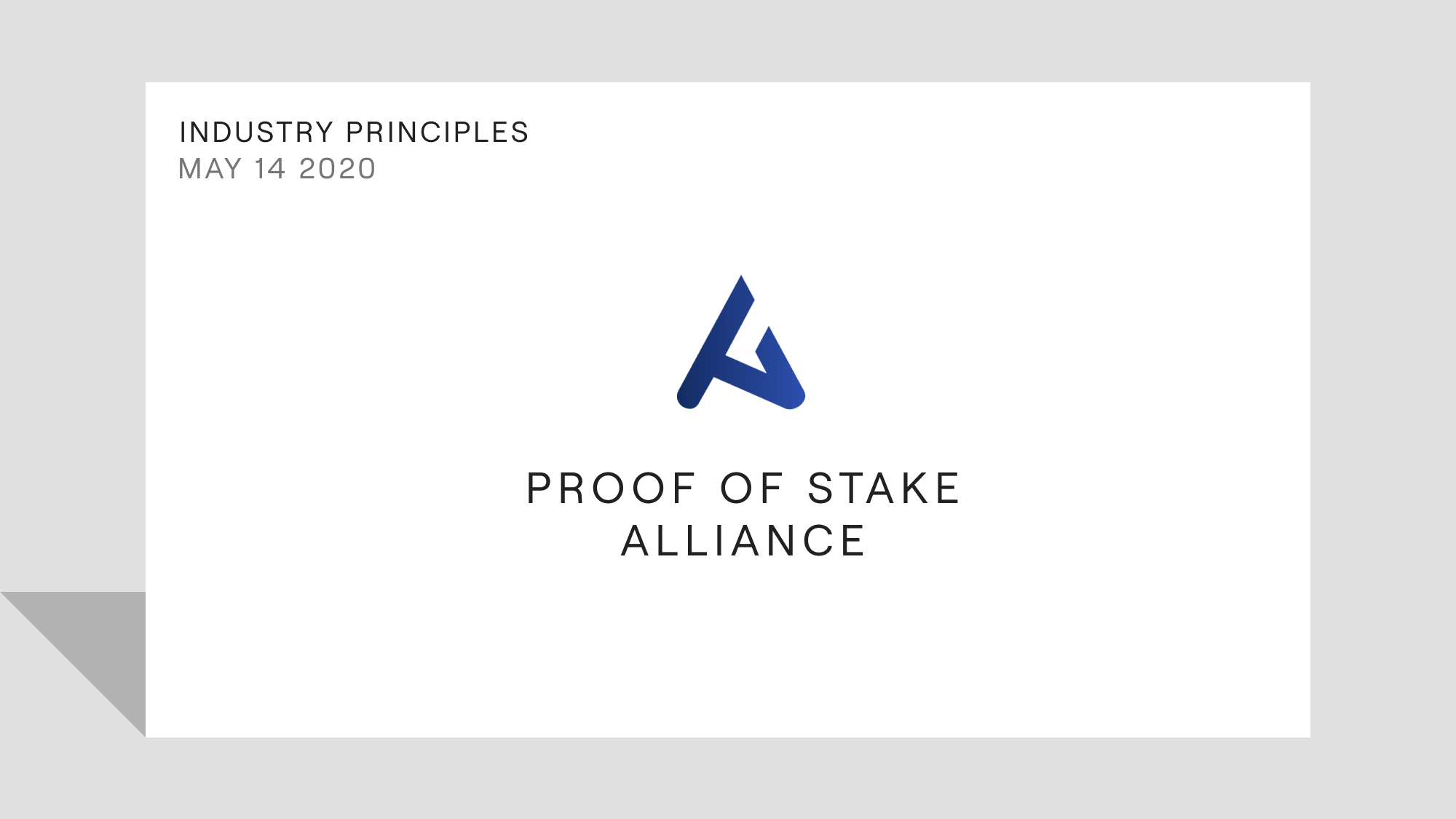 Industry Leaders Collaborate to Create Principles to Guide Staking Providers