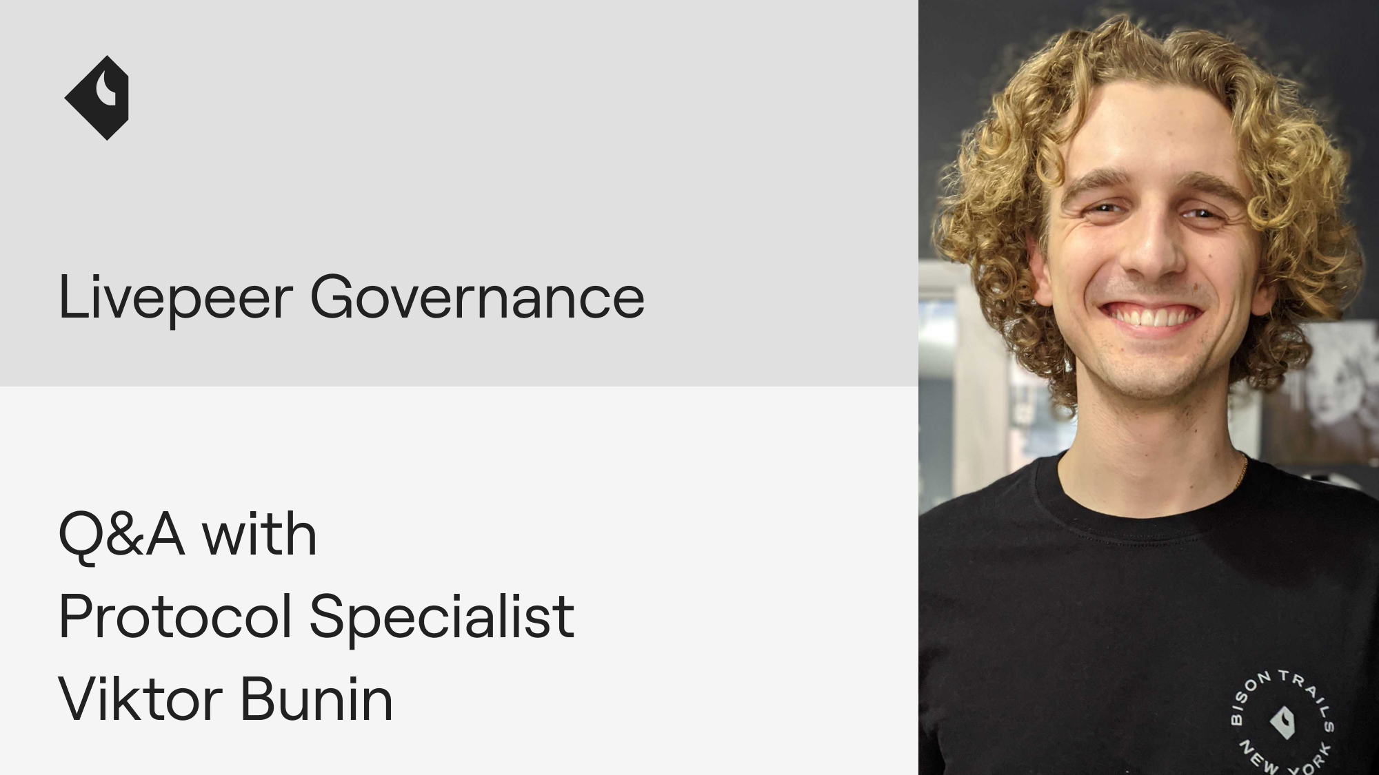 Livepeer governance: Q&A with Protocol Specialist Viktor Bunin