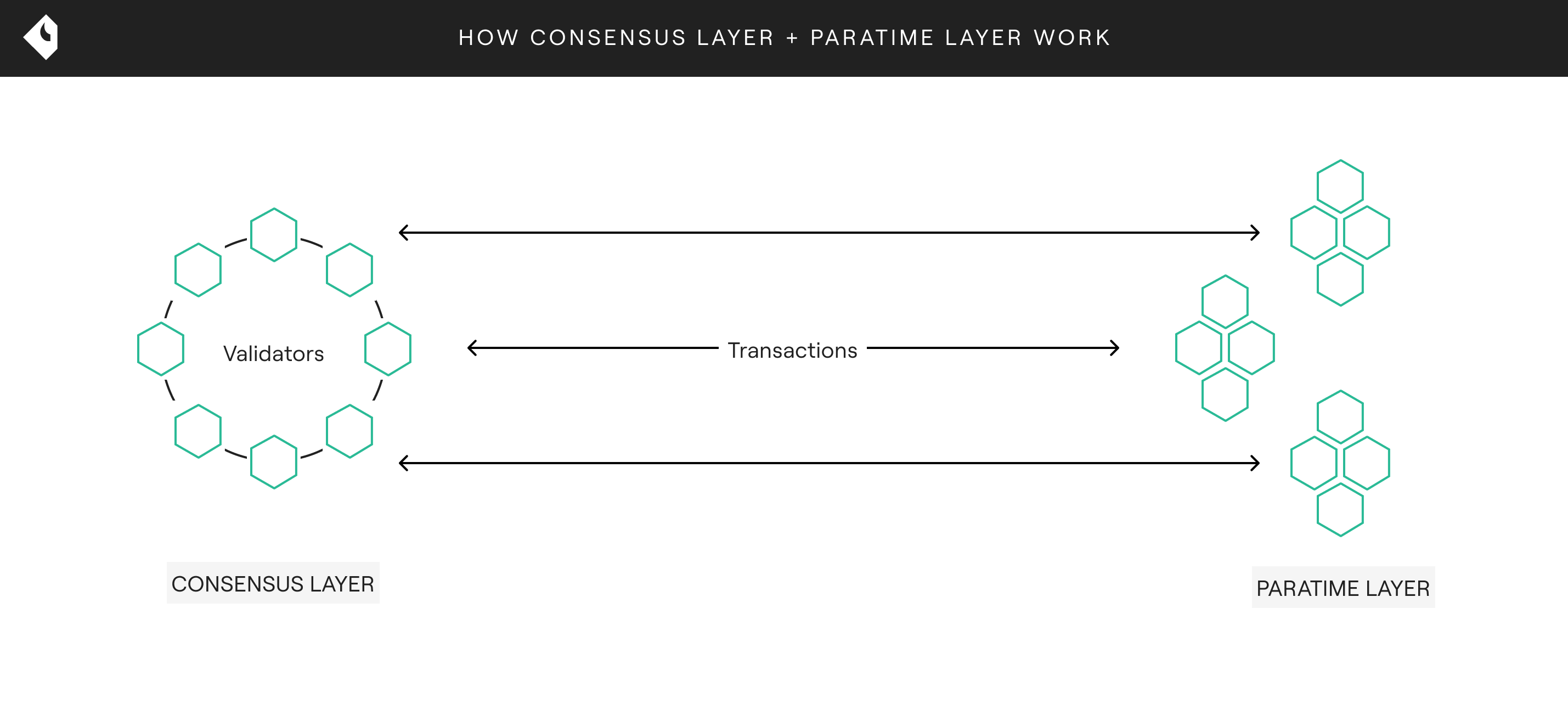 Oasis - How Consensus Layer + Paratime Layer Work