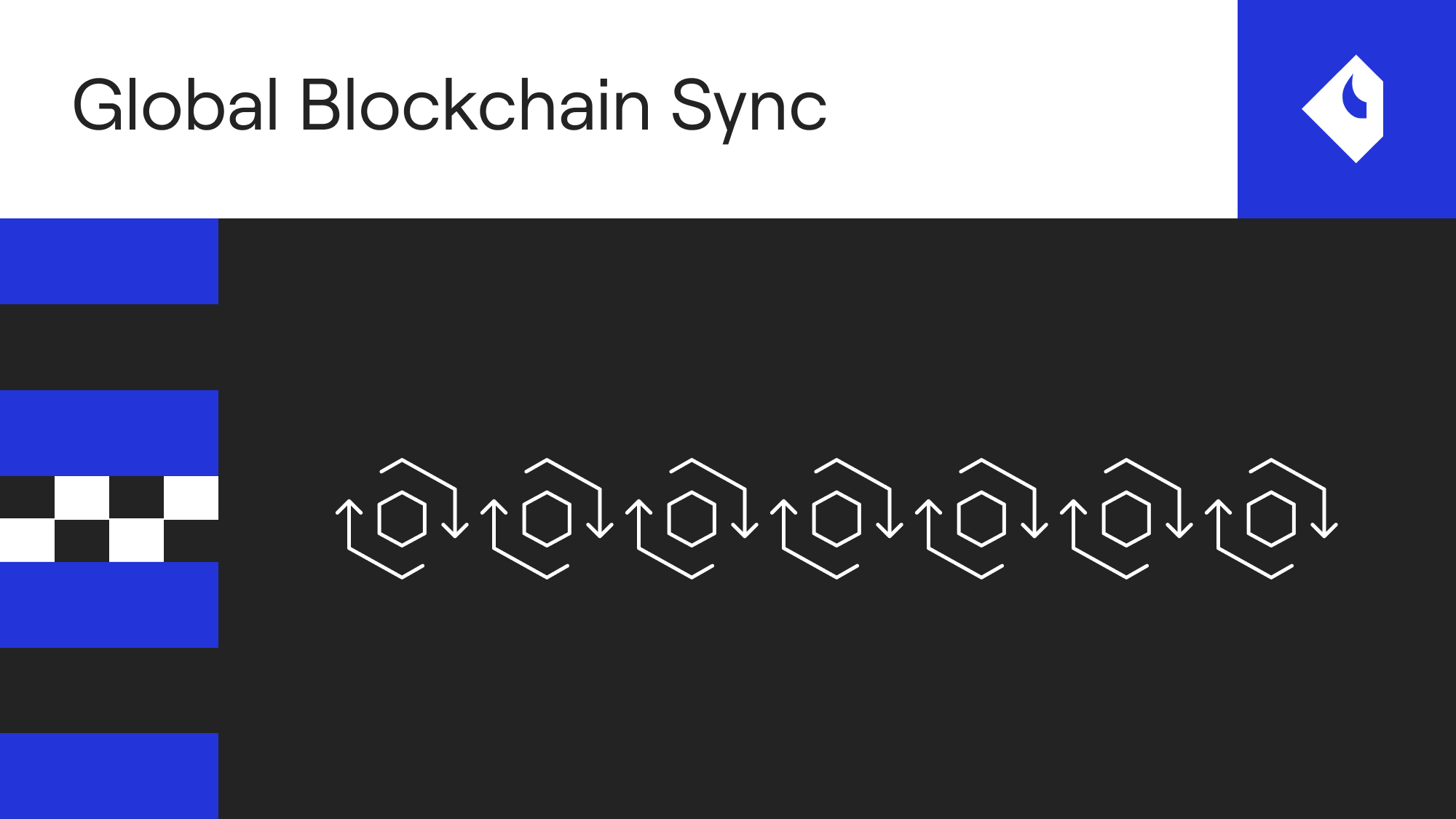 Launch fully synced nodes in minutes with Global Blockchain Sync